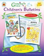 Growing in Grace: Children's Bulletins (Ages 3-6)