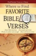 Where to Find Favourite Bible Verses (Rose Guide Series) Pamphlet