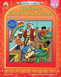 Obedience Bible Story Puzzles (Grades Pk-K) (Fun Faith-builders Series)