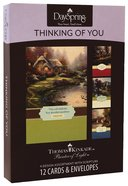 "Boxed Cards Thinking of You: Thomas Kinkade - ""Painter of Light"" Box"