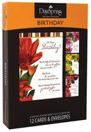 Boxed Cards Birthday: Beautiful Sentiments Box