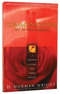 Communication: Key to Your Marriage Paperback