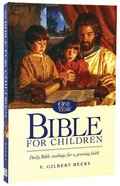 One Year Bible For Children Hardback