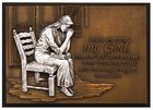 Small Moments of Faith Plaque Praying Woman Plaque
