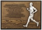 Small Moments of Faith Plaque the Goal Runner Plaque