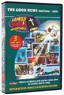 Family Bible Adventures Kit (Dvd/Cdrom/Cd) (Good News - Matthew/john)