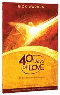 40 Days of Love (Study Guide) Paperback
