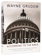 Politics - According to the Bible Hardback