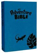 NIV Adventure Bible Iguana Blue Leather Look Imitation Leather