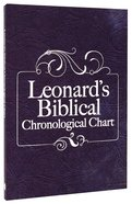 Leonard's Biblical Chronological Chart Hardback