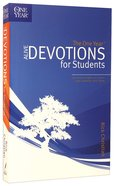 The One Year Alive Devotions For Students (One Year Series) Paperback