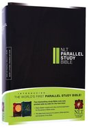 NLT Parallel Study Bible (Black Letter Edition)