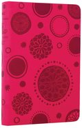 NLT Compact Bible Bloom-A-Dot Pink Imitation Leather