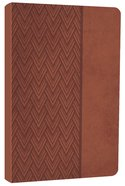 NKJV Compact Ultraslim Bible Auburn Premium Imitation Leather
