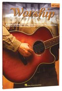 Worship Book - Easy Guitar (Music Book) Paperback