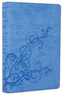ESV Compact Bible Sky Blue Ivy Design Imitation Leather