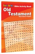 Activity Book Old Testament Word Search Puzzles (Itty Bitty Bible Series) Paperback