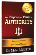 Purpose and Power of Authority Paperback