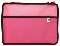 Bible Cover Reversible Pink/Brown Large
