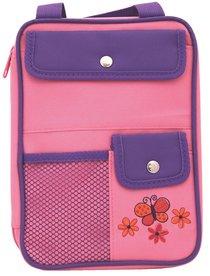Bible Cover Girls Organizer Pink Butterfly Medium