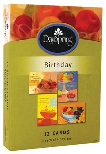Boxed Cards Birthday: Fruitful Life