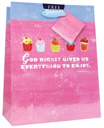 Gift Bag Medium: Sweet Gifts Cupcakes (Incl Tissue Paper & Gift Tag)