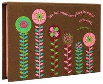 Cocoa Flower Memo Box