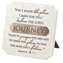 Plaque: Journey (Polyresin)