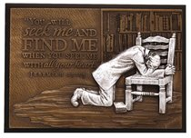 Small Moments of Faith Plaque Praying Man