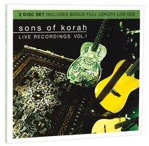Sons of Korah: Live Recordings Vol. 1 (Cd/dvd)