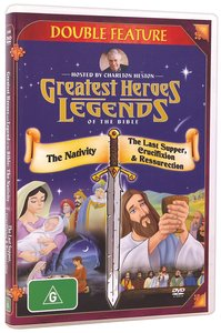 Nativity/The Last Supper, Crucifixion & Resurrection (Greatest Heroes & Legends Of The Bible Series)