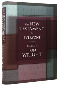 The New Testament For Everyone (Translation By Tom Wright)