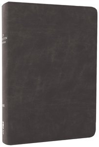 NIV Life Application Study Bible Distressed Black (Red Letter Edition)