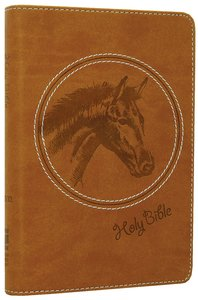 NIV Wild About Horses Backpack Bible (Red Letter Edition)