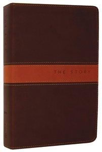 NIV the Story Chocolate Tan Duo-Tone (The Story Series)