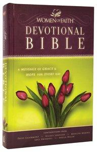 NKJV Women of Faith Devotional Bible (Black Letter Edition)