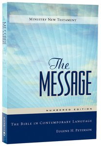 Message Numbered New Testament Personal Size