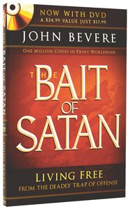 The Bait of Satan: Living Free From the Deadly Trap of Offense (Includes Dvd)
