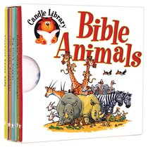 Candle Library: Bible Animals (6 Small Books)