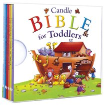 My Little Library (Six Board Books in a Handy Slipcase) (Candle Bible For Toddlers Series)