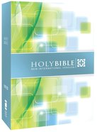 NIV Compact Thinline Green Blue Bible Hardcover