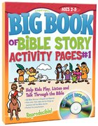 Big Book of Bible Story Activity Pages #01 (Reproducible) Paperback