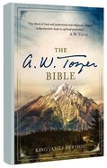 KJV a W Tozer Bible (Red Letter Edition) Hardback