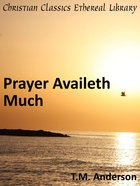 Prayer Availeth Much eBook