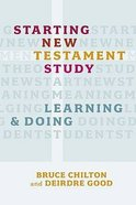 Starting New Testament Study Paperback