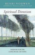 Spiritual Direction Paperback
