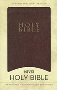 NIV Holy Bible Gift & Award Burgundy (Black Letter) Imitation Leather
