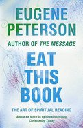 Eat This Book (#02 in Spiritual Theology Series) Paperback