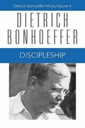 Discipleship (#04 in Dietrich Bonhoeffer Works Series) Paperback