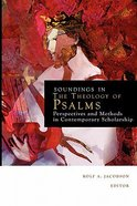 Soundings in the Theology of Psalms Paperback